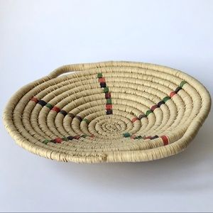 Other - Handcrafted Woven Coil Basket